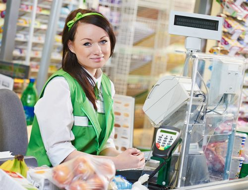 When customers can skip the cashier line, what happens to the nation's 3.6M cashiers?