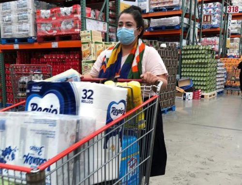 Traffic at Walmart, Costco and Target falls for the first time in weeks as coronavirus stockpiling behavior shifts