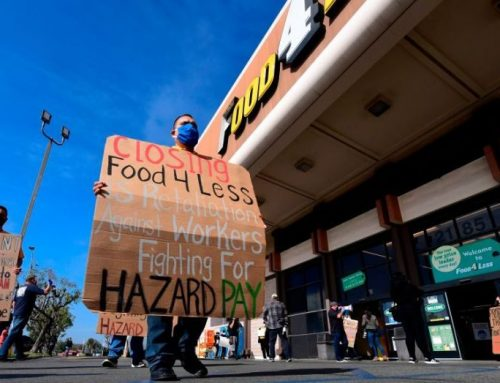 Grocery store workers, community members call on Kroger to stop closing local stores